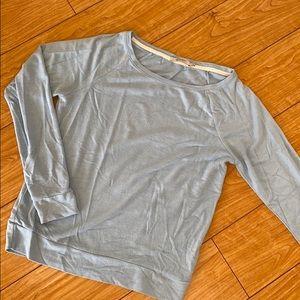 Soft baby blue lightweight sweatshirt size L